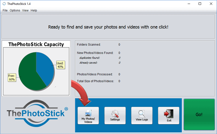 ThePhotoStick software
