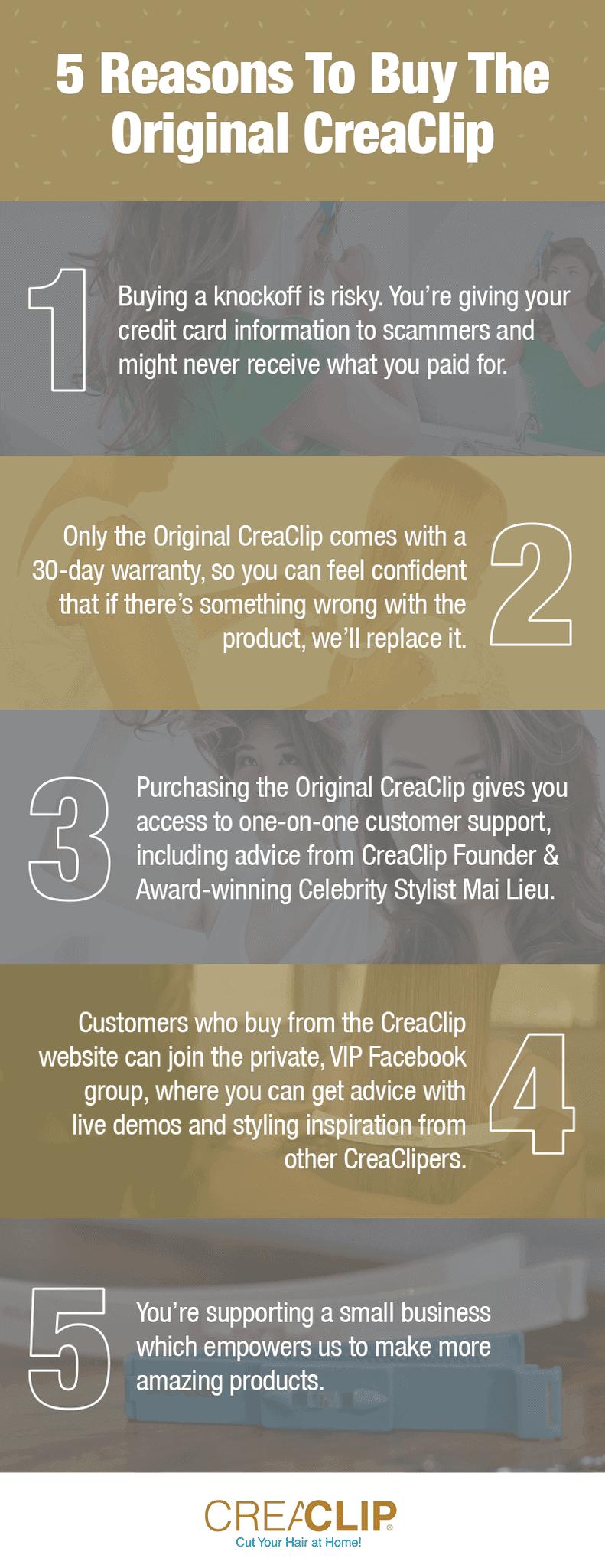 5 redenen om origineel te kopen
