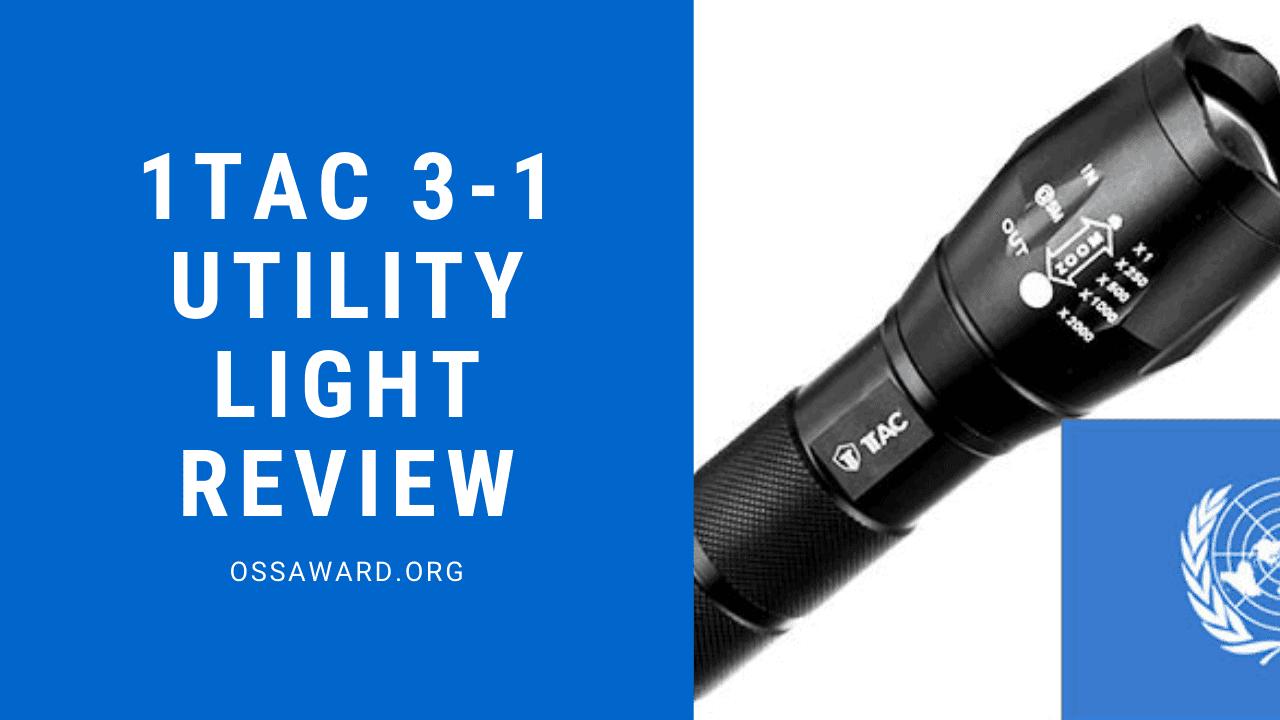 Un'immagine di 1Tac 3 in 1 Utility Light Review