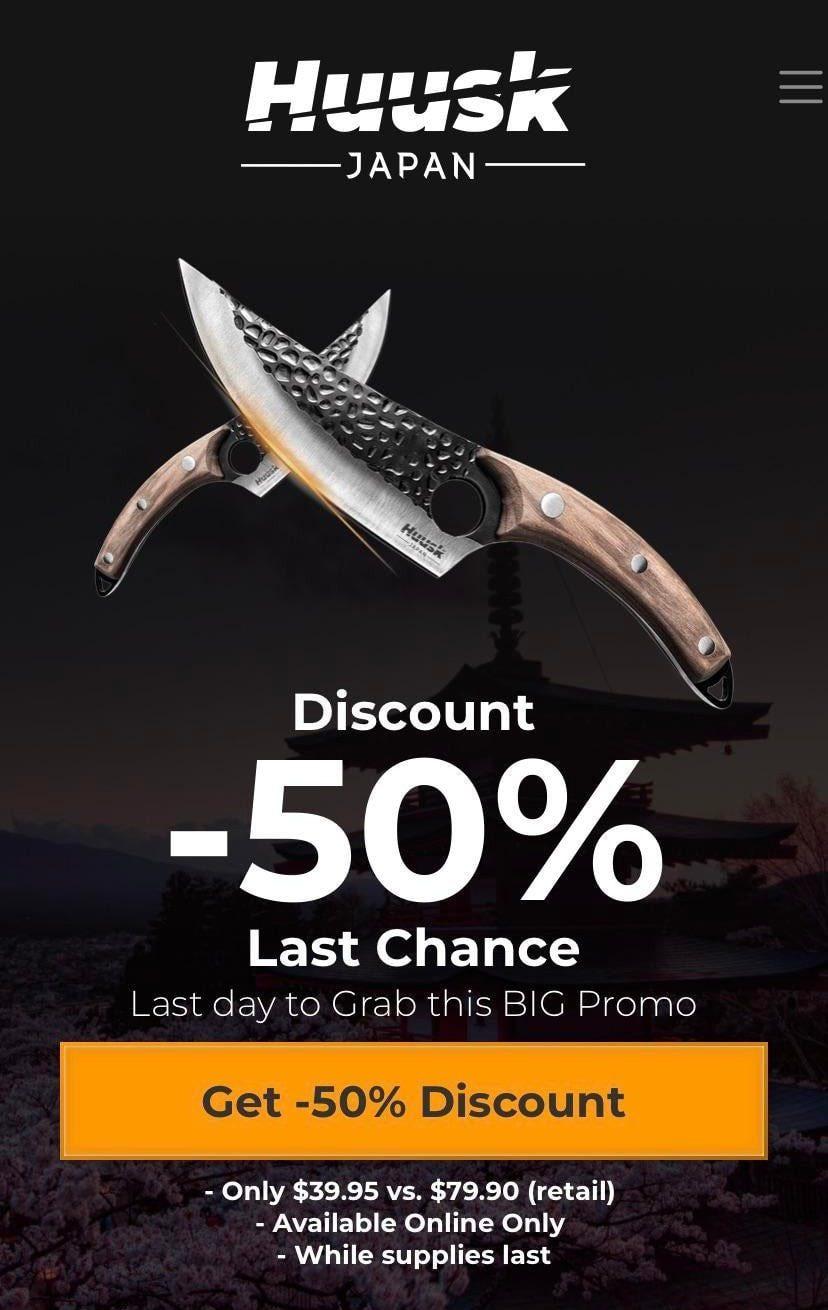 Huusk Knife Order Now