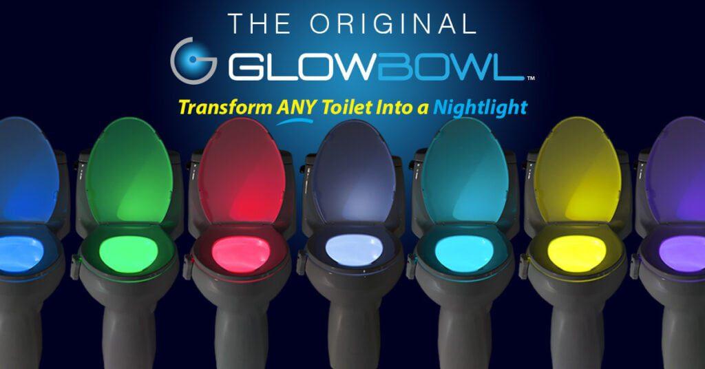 GlowBowl Cores Diferentes Luz