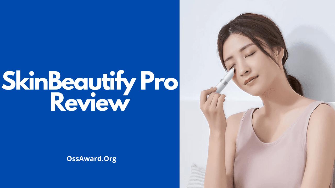 Una ragazza che usa SkinBeautify Pro