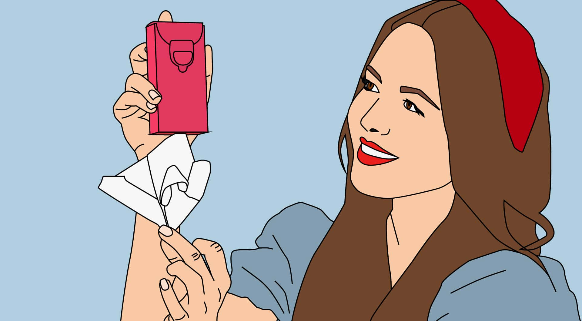 Dernier examen du tissu