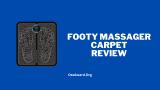 Revisão do tapete do massageador de Footy - isso ajuda?